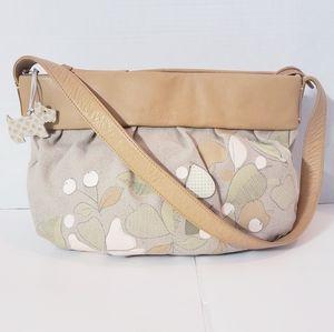 Radley London Linen & Leather Shoulder Bag